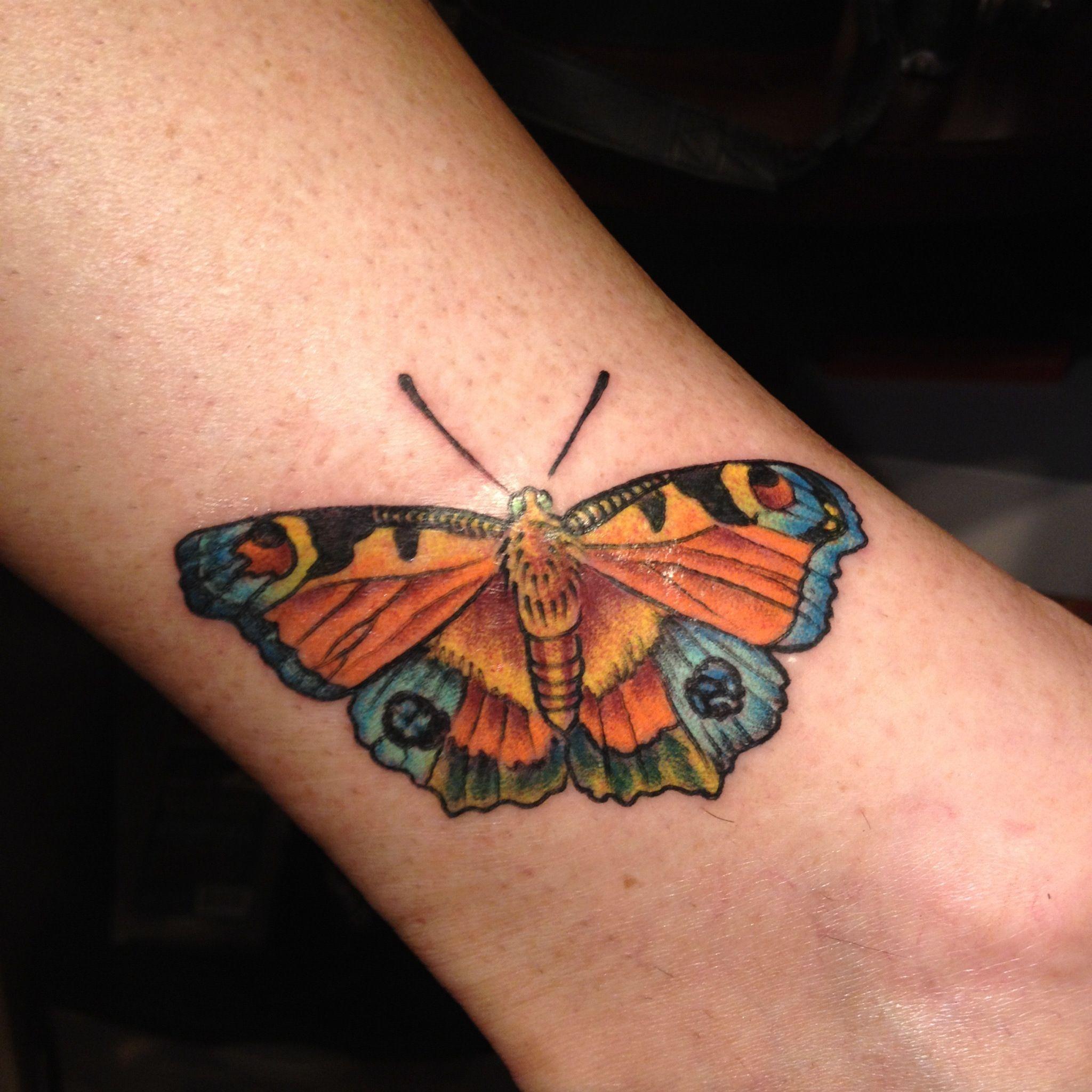 f5bdbb94b Peacock butterfly tattoo - photo#6