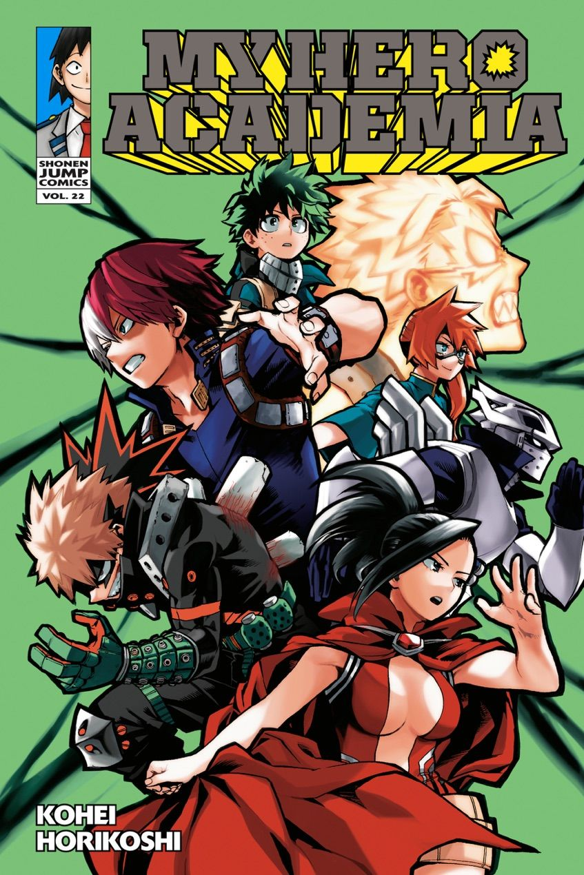 My Hero Academia Vol 22 By Kohei Horikoshi Free Ebook Downloads