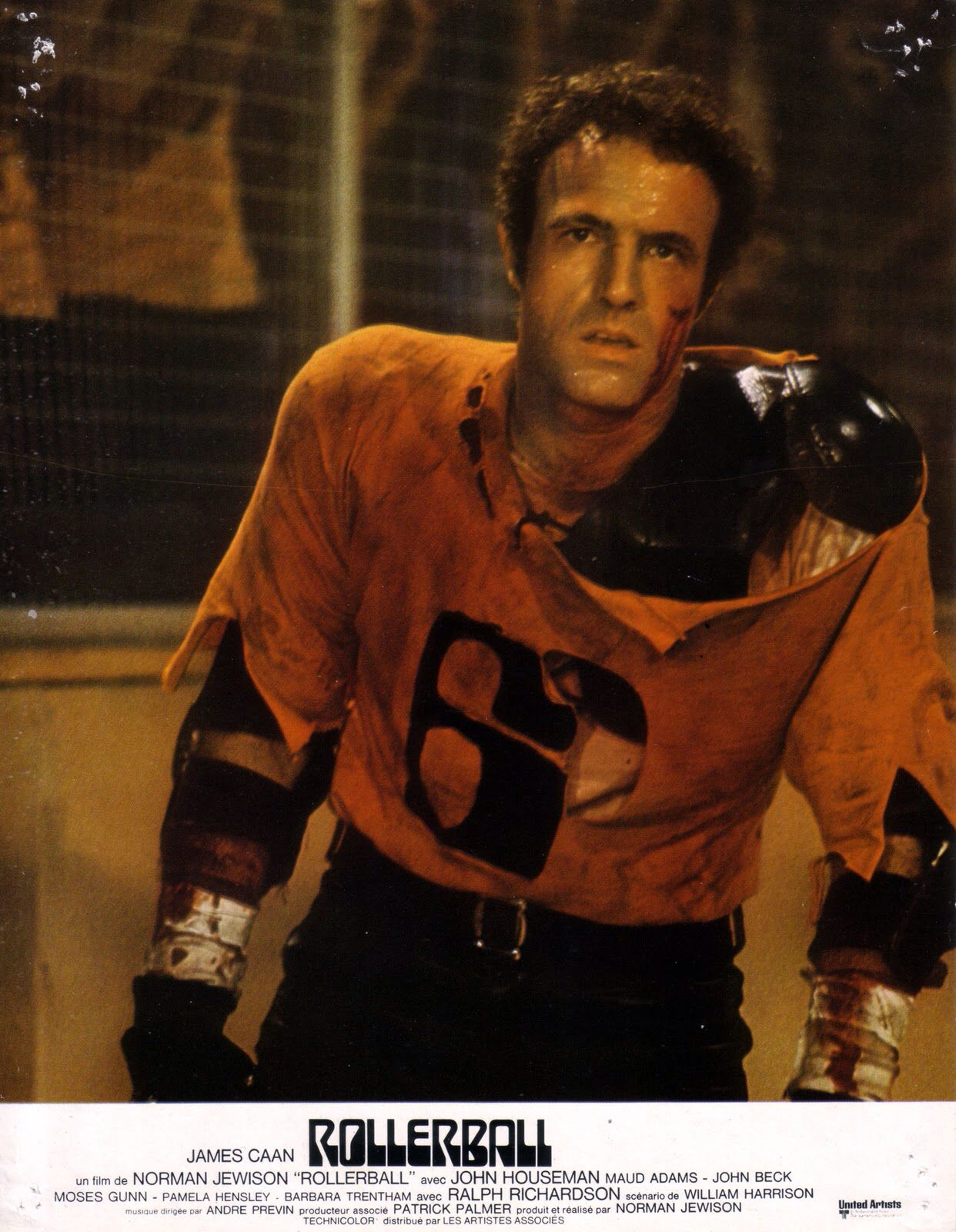 Rollerball Player Science fiction Film T Shirt
