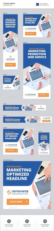 Digital Agency Banners | Digital agencies, Banner ads, Web ...