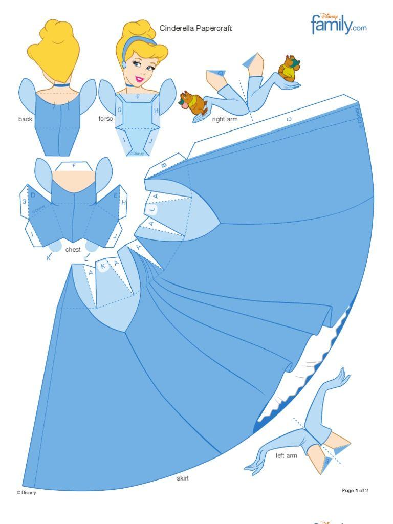 Papercraft Princess Edition Cinderella