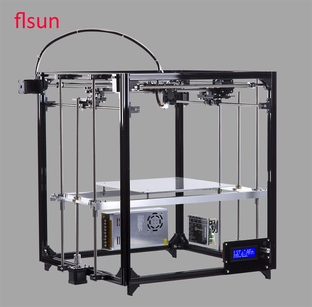 New Design Aluminium Frame 3D Printer Kit Large Printing