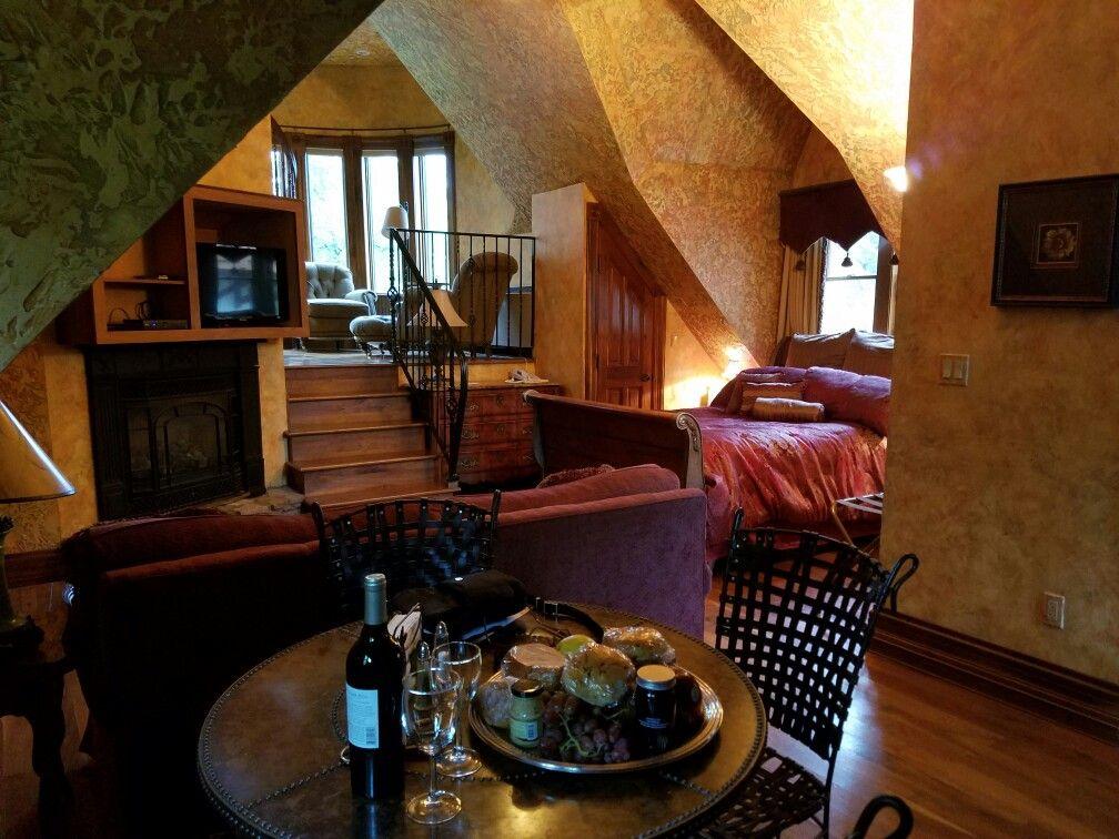 Amazing!   The Landoll Suite at the Landoll Castle, Loudonville, Ohio