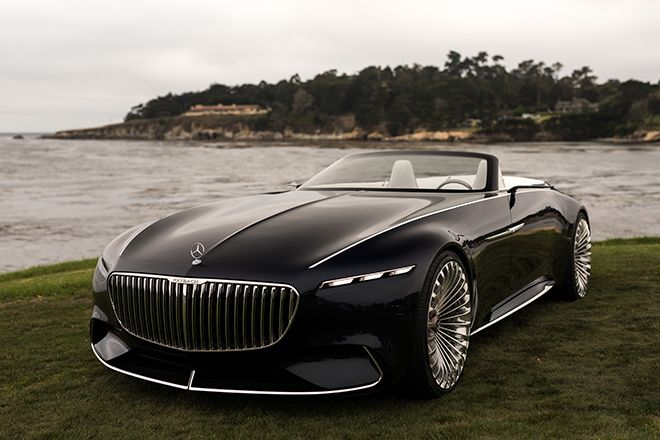 Head Turning Car Vision Mercedes Maybach 6 Cabriolet Mercedes