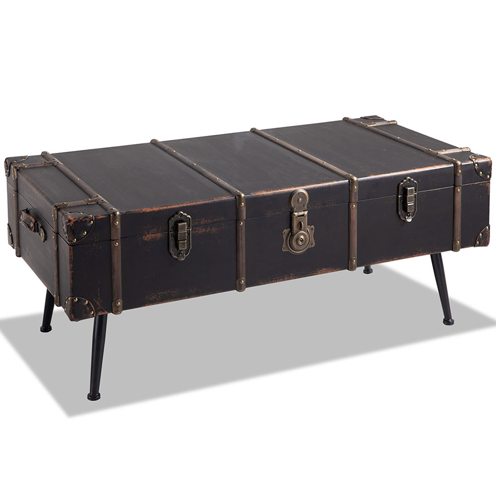 Legends Ventura Trunk Coffee Table Black Metal Coffee Table Trunk Legends Furniture Hall Tree With Storage