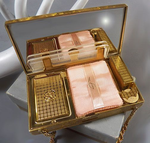 Vintage Cosmetic Bags Historic Fashion Pinterest