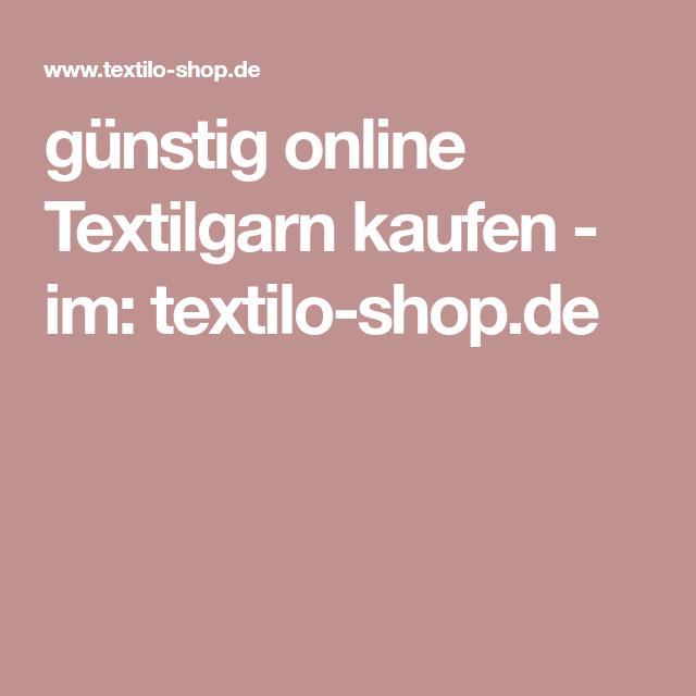 günstig online Textilgarn kaufen im