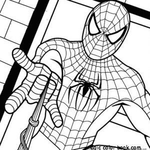 Spiderman Coloring Pages 34 Adult Ideas Gallery