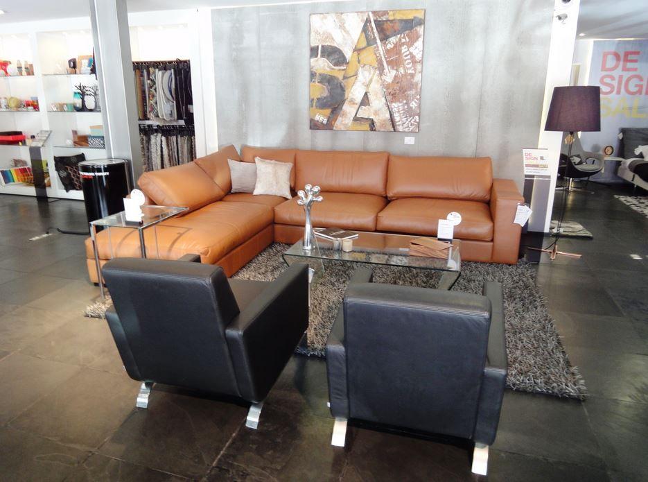 boconcept cenova sofa in caramel bahia leather fly chairs. Black Bedroom Furniture Sets. Home Design Ideas