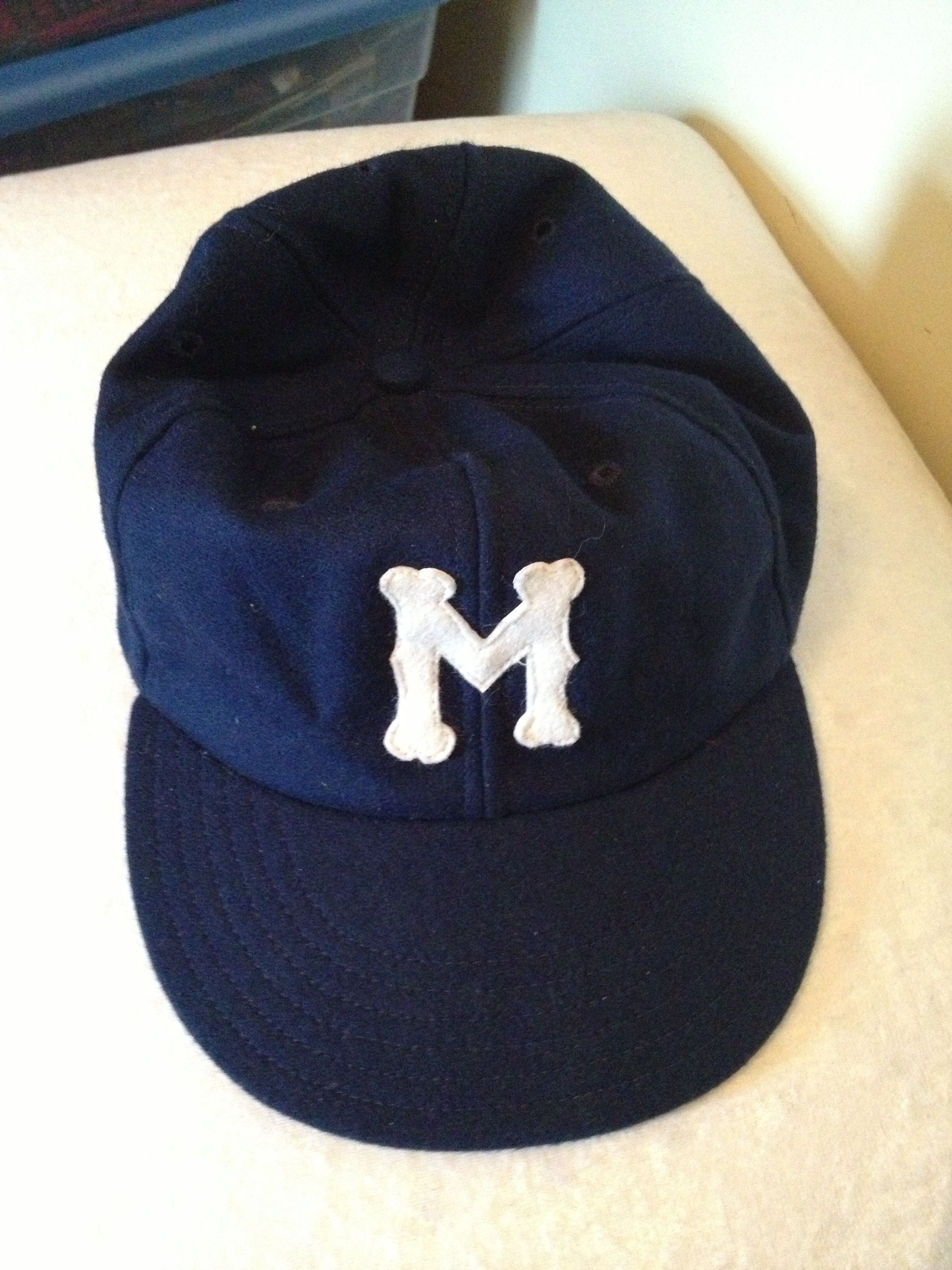 55566a88c62 1946 Montreal Royals baseball cap made for me by Cooperstown Ball ...