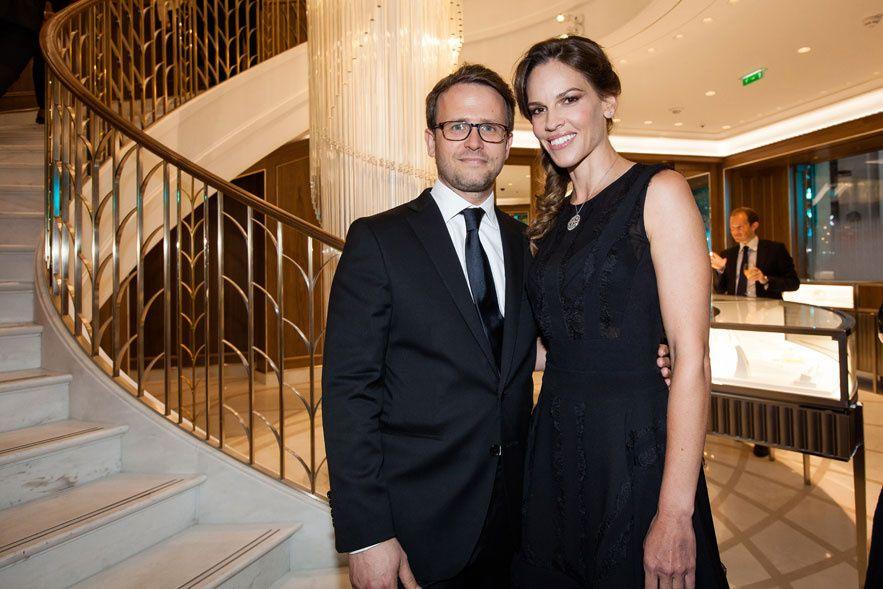 Hilary Swank et Marc Jacheet