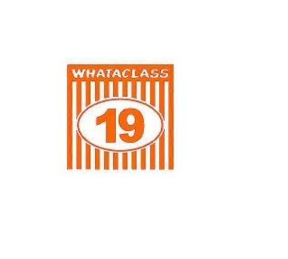 Whataclass 19 SVG, JPG and PDF - Digital File - Whataburger   CRICUT