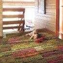 Cambium-Geranium   carpet tile by FLOR