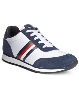 TOMMY HILFIGER Tommy Hilfiger Men's Massena Low-Top Sneakers. #tommyhilfiger #shoes # all men