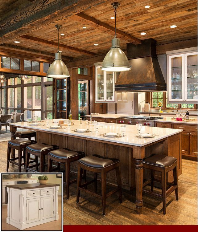 Pin on Ideas For Kitchen Islands