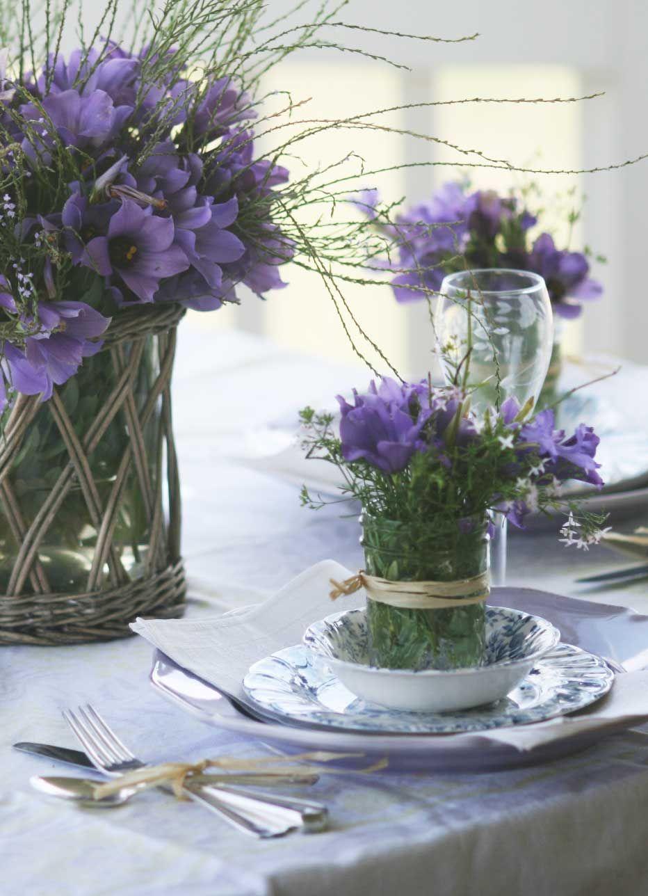 Bouquets violets