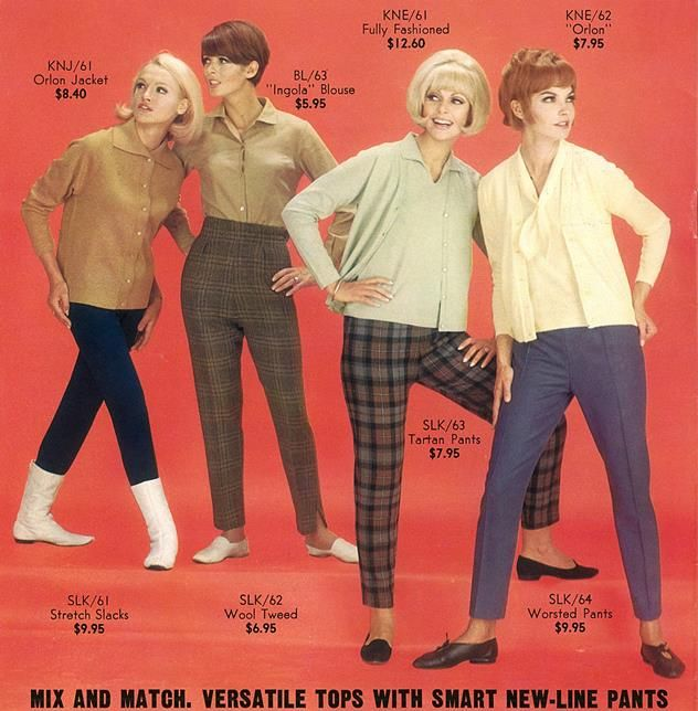 Sixties Nymph Fashion Vintage Outfits 1960s Fashion