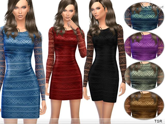 Sims 4 CC's - The Best: Dress by Ekinege