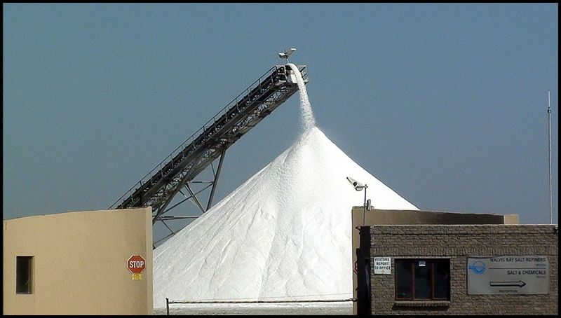 Salt refinery - , Karas - Namibia