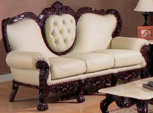 Delightful Exquisite Victorian Style Leather Sofas Great Ideas