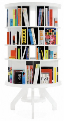 Round Swivel Bookcase