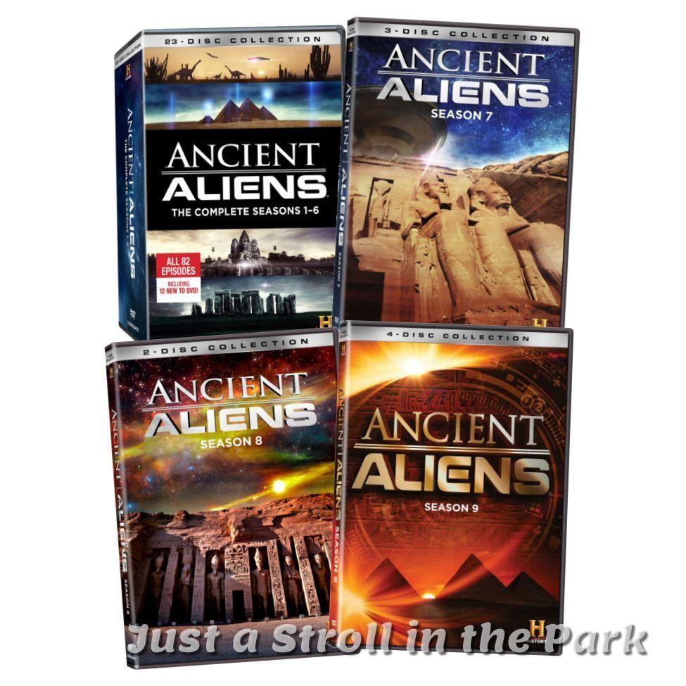 Ancient Aliens: TV Series Complete Seasons 1 2 3 4 5 6 7 8 9 Box/DVD