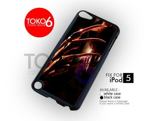 AJ 3399 Freddy Krueger American Horror - ipod 5 Case | toko6 - Accessories on ArtFire