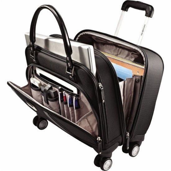 Samsonite Business Women S Mobile Office Rolling Laptop Spinner