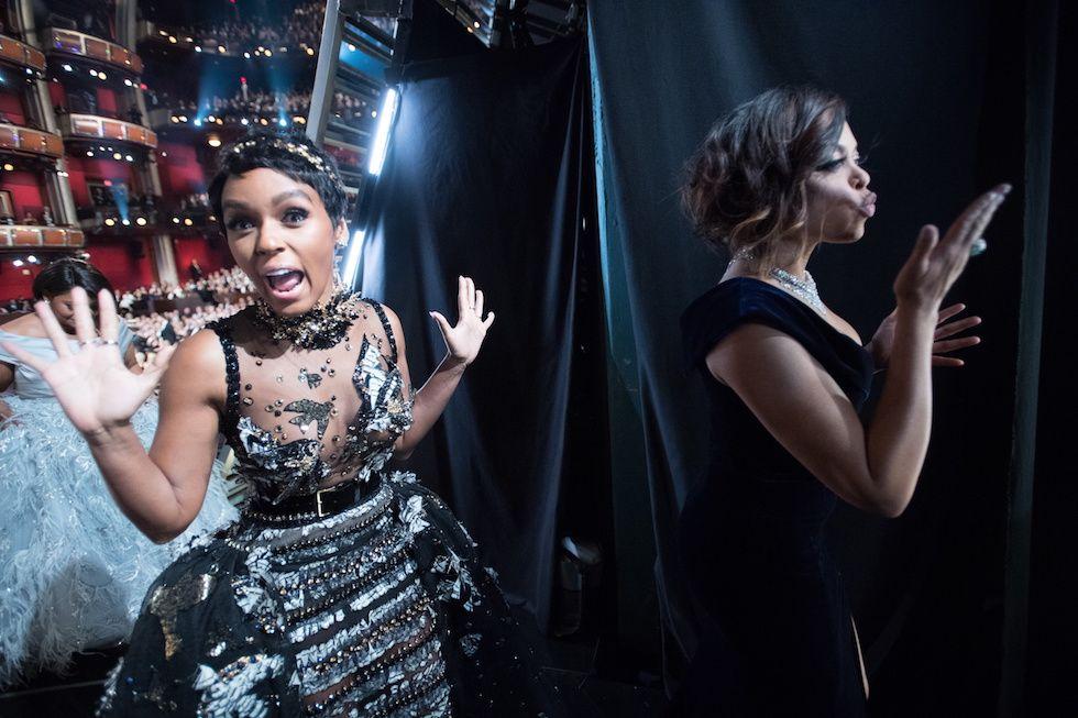 Janelle Monae e Taraji P. Henson  (© AMPAS/ZUMAPRES) | Oscar 2017