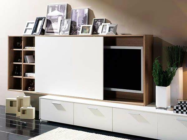 Wohnzimmermöbel - Tolle Wohnwand-Designs, die Sie inspirieren ...