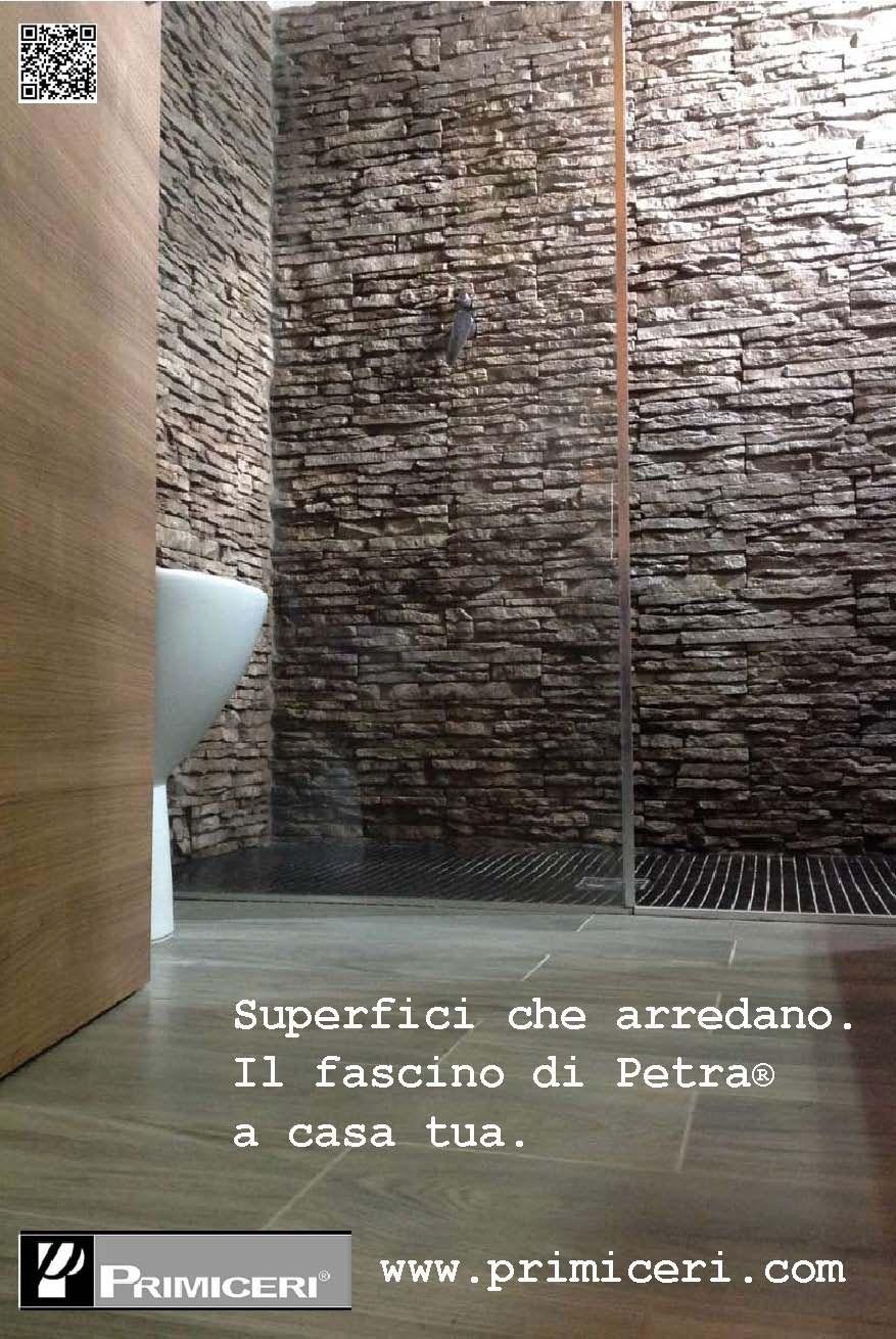 Il perfetto connubio fra la parete in petra primiceri e for Colori del rivestimento della baracca