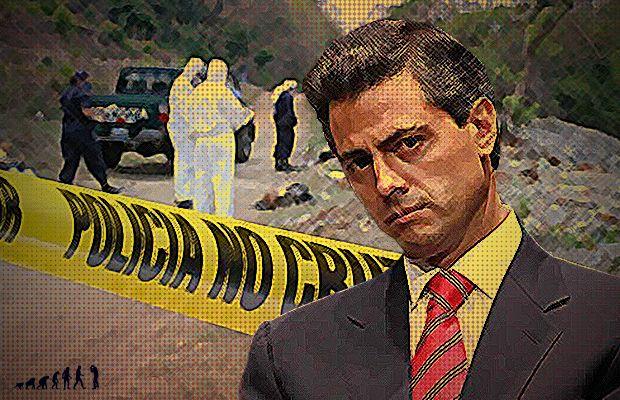 El país es devorado por la violencia, pero Peña celebra reducción de asesinatos