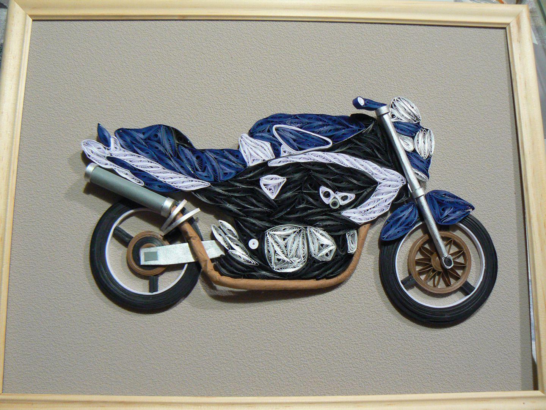 оригами мотоцикл картинки был