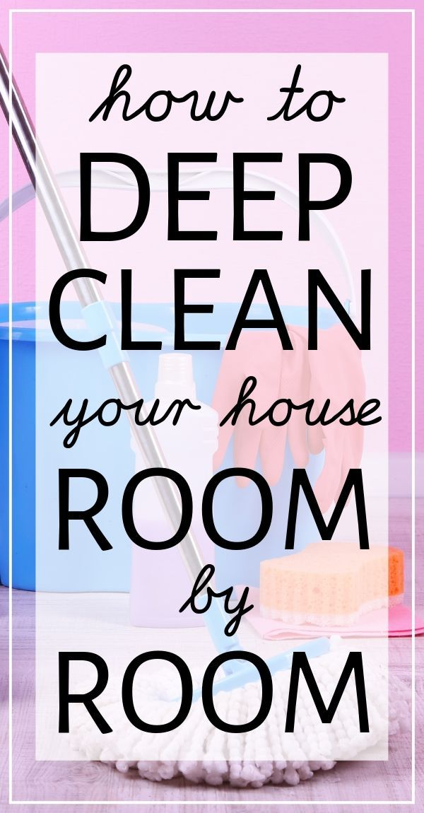 How to Deep Clean Your House Fast With the Best Expert Cleaning Tips