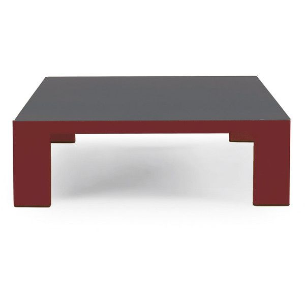 Ethimo Esedra Square Low Coffee Table Warm Red Slate Grey 1 360 Cad