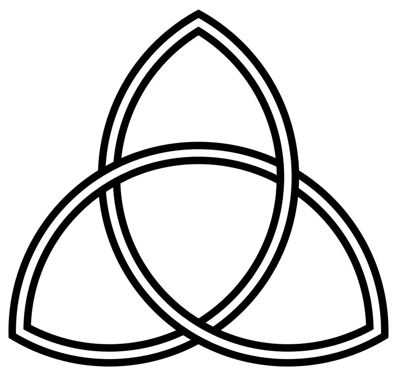Father Son And Holy Ghost Celtic Symbol My Favorites Pinterest