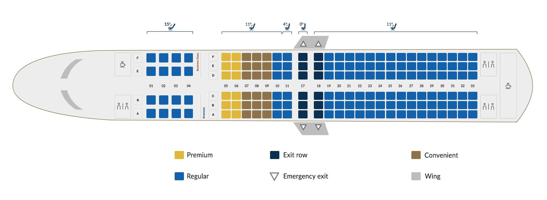 Copa Airlines Boeing 737 800 A Seating Plan Airlines Boeing Boeing 737