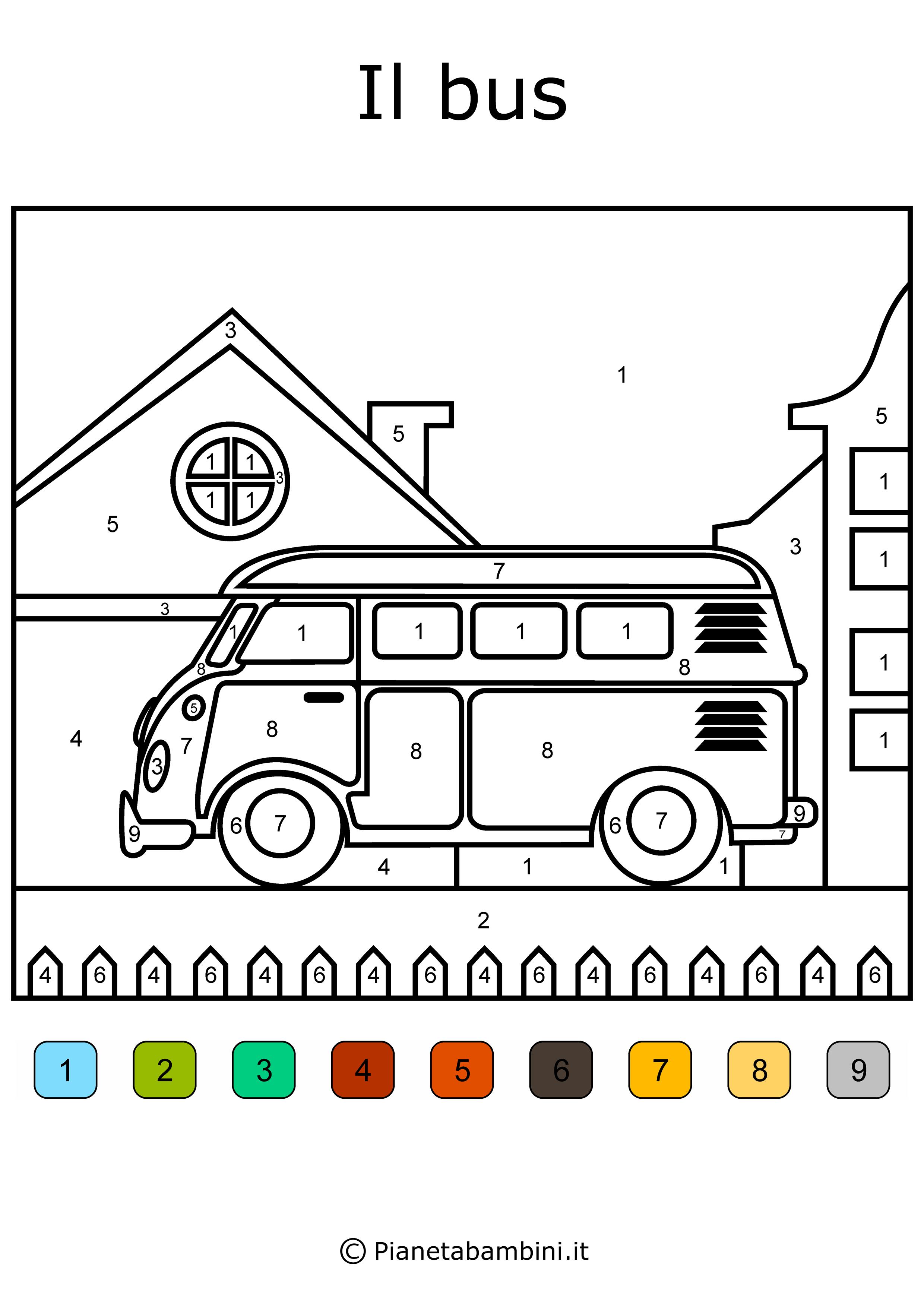 Conta E Colora 48 Disegni Da Colorare In Base Ai Numeri Disegni Da Colorare Disegni Stampe Per Bambini