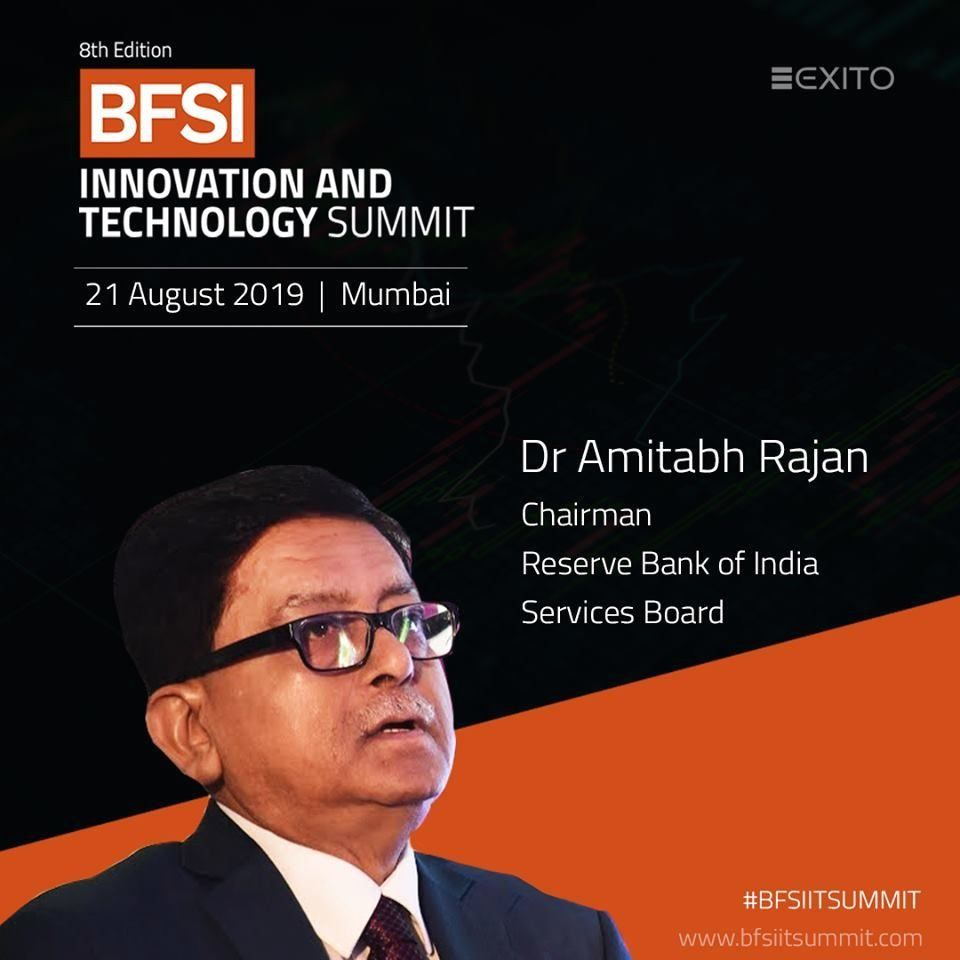 Bfsi it summit 2019 speaker dr amitabh rajan 1000