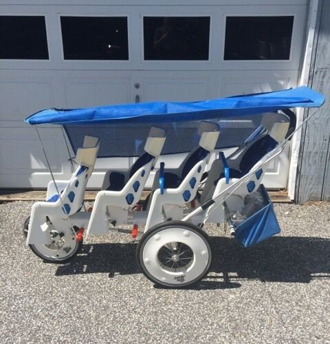 Berg Design Runabout Quad Stroller 4 Seater Local Pick Up
