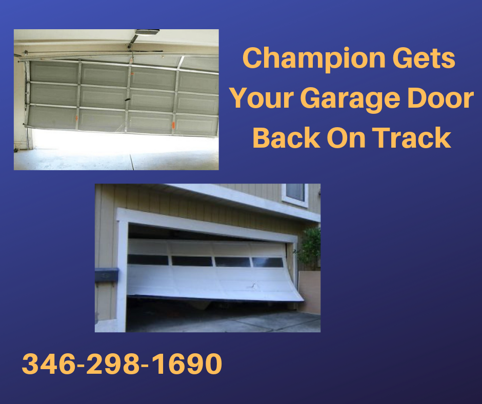 When Your Garage Door Goes Off Track You Need A Technician That