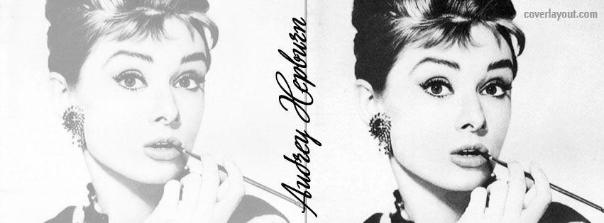 Audrey Hepburn Facebook Cover Audrey