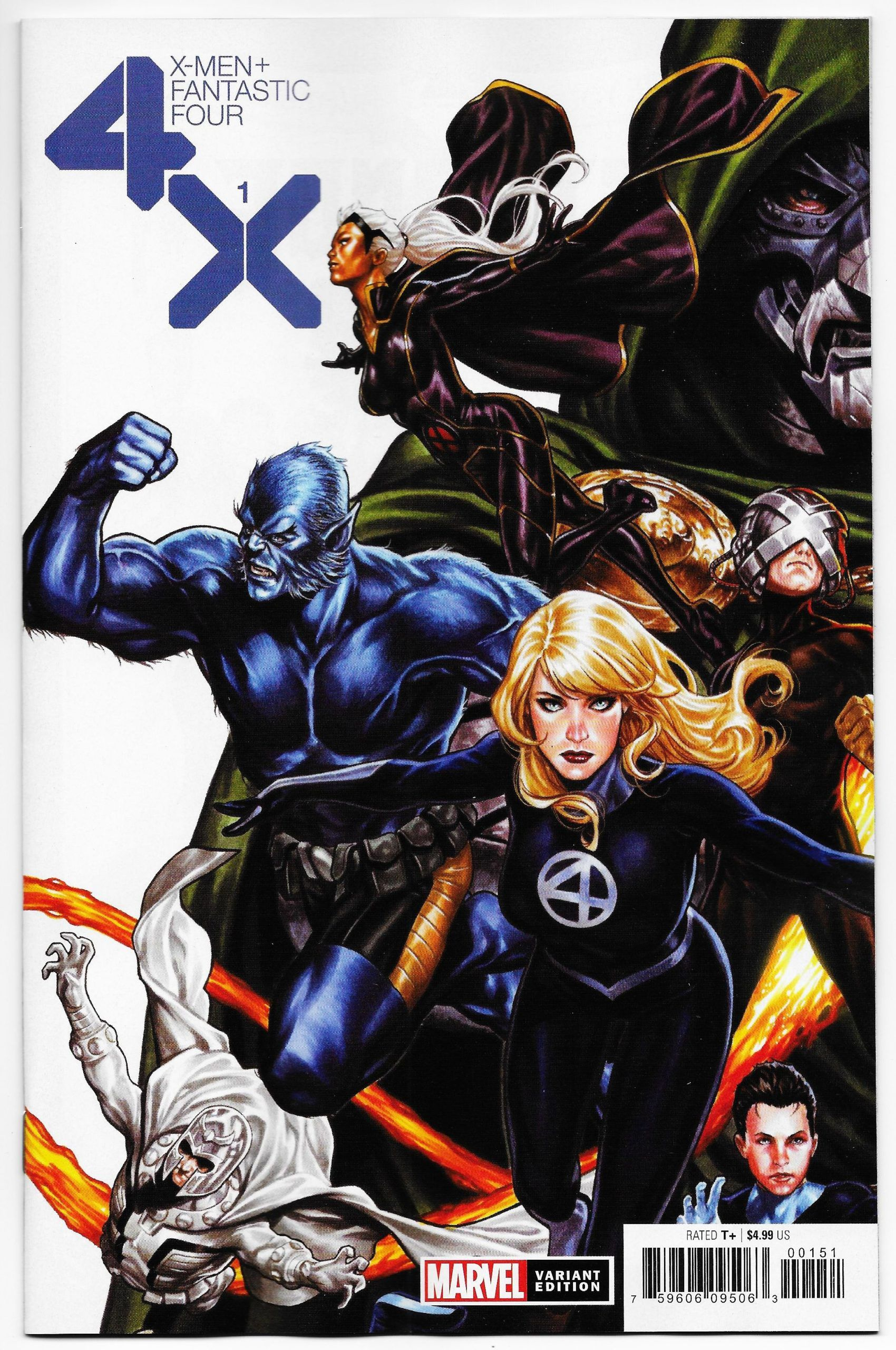 X Men Fantastic Four 1 Brooks Variant Marvel 2020 Nm In 2020 Fantastic Four Fantastic Four Marvel Fantastic Four 1