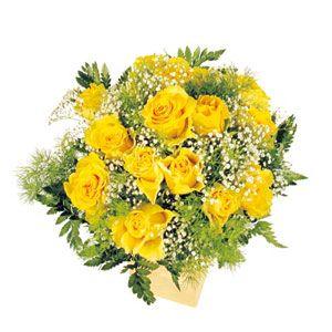Bouquet Rose Gialle Consegna Fiori A Domicilio Bouquet Di Rose Bouquet Fiori