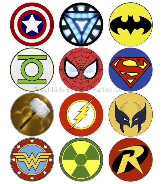 bogo free superheroes marvel logos comic characters cross