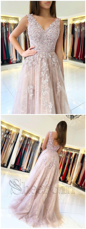 Custom made feminine prom dresses lace prom dresses prom