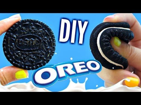 Diy oreo squishy no mold tutorial easy diy toys for kids this tutorial shows you how to make your own oreo squishie this also works as a stress ball as it feels exactly like one very soft and squishy more oreo solutioingenieria Images