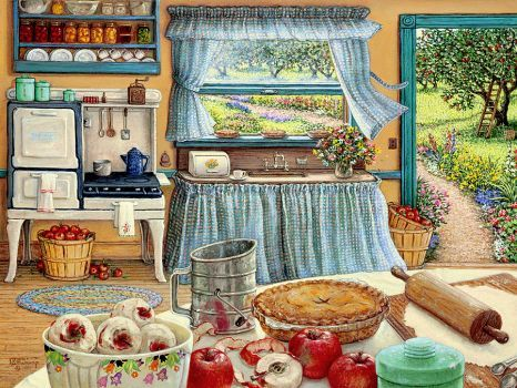 Breezy Country Kitchen (165 pieces)