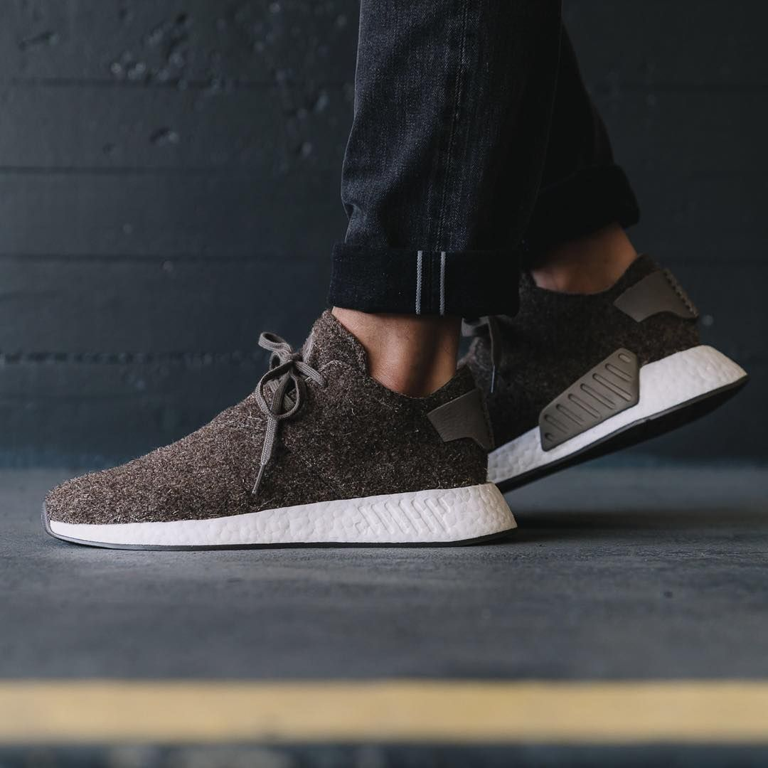 pretty nice c668d 32d7f Release Date   October 26, 2017 Adidas x Wings Horns NMD C2 Simple Brown    Gum Credit   Overkill