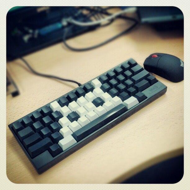 Invaded Your Spacebar   ducky mini keycaps keyset   Keyboard